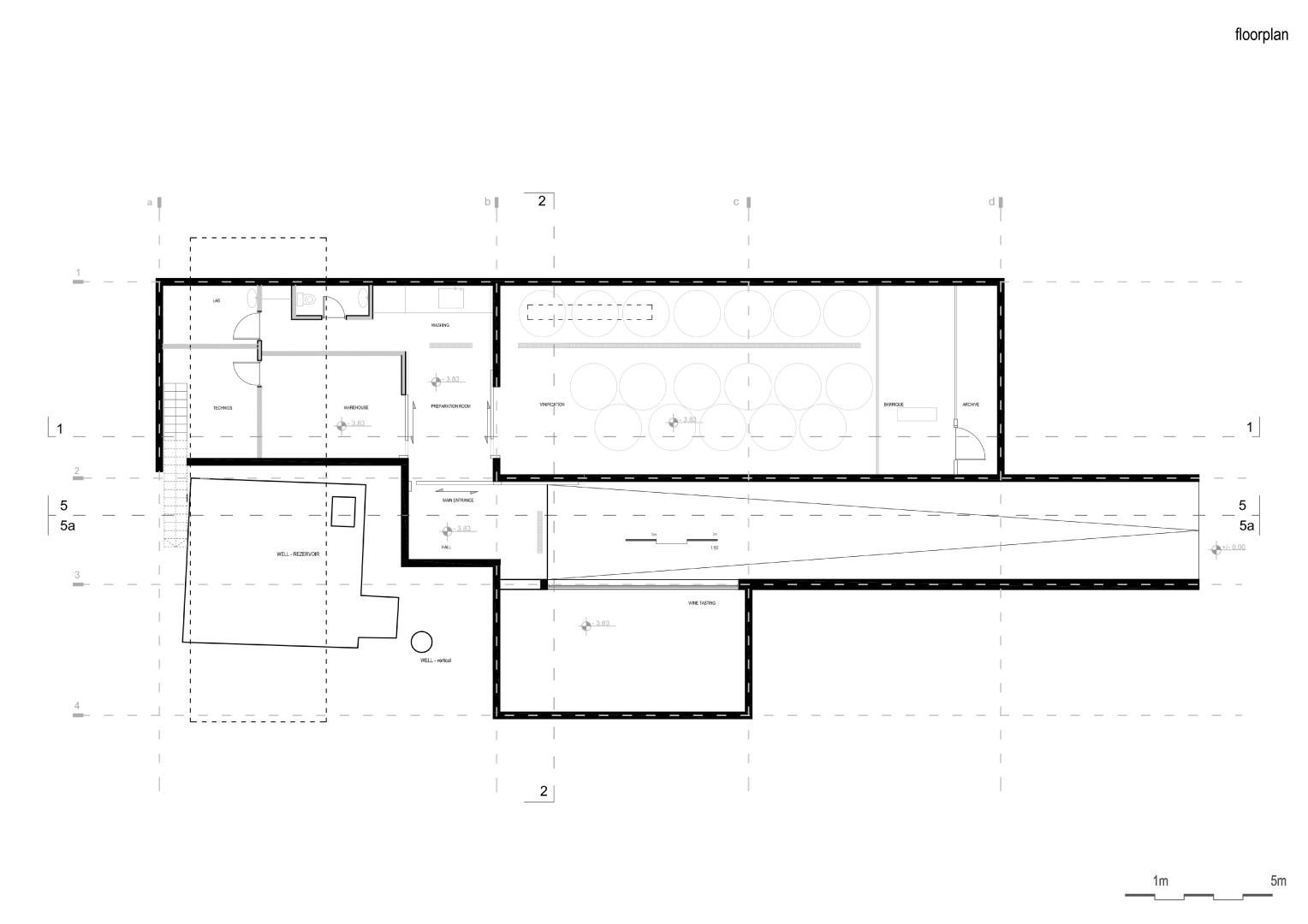 Mola wine cellar rogame podgorica dvarp for Wine cellar floor plans
